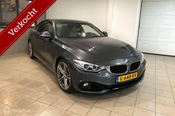 BMW 4-serie Coupé 430d Executive Sport Line AUT Vol opties!