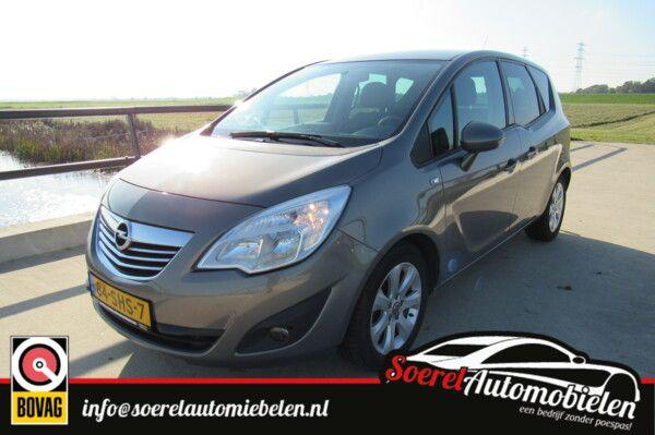 Opel Meriva 1.4 Turbo Cosmo, clima, navi, cruise,  half leer