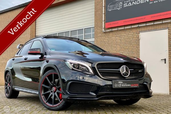 Mercedes GLA45 AMG 4Matic Edition 1, 03-2015,pano,Recaro vol