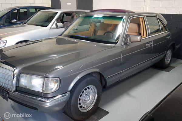 Mercedes W 126 380  SE  WEGENBELASTINGVRIJ . LPG
