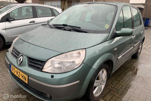 Renault Scenic 2.0-16V Tech Line 296.DKM  AUTOMAAT ECC NAVI LET OP GEEN APK