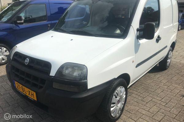 Fiat Doblo Cargo 1.9D 204.DKM GRIJSKENTEKEN APK 19-06-2021
