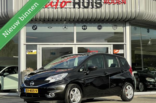 Nissan Note 1.5 dCi Black Edition *Unieke km* Cruise  Airco 