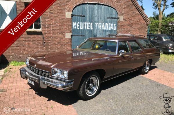 Buick Estate wagon Station 455 v8 LPG chevrolet kingswood