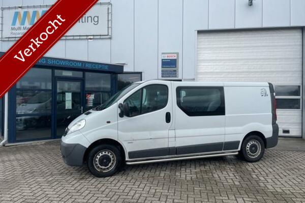 Opel Vivaro bestel 2.0 CDTI L2H1|dubbel cabine |APK 2021