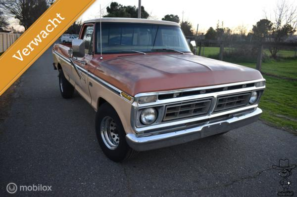 Ford USA F-100 pick-up
