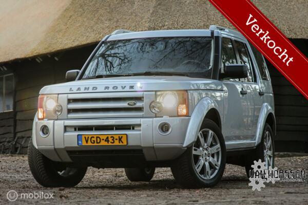 VERKOCHT  Land Rover Discovery  2.7 TDV6 HSE Grijs kenteken BTW Auto