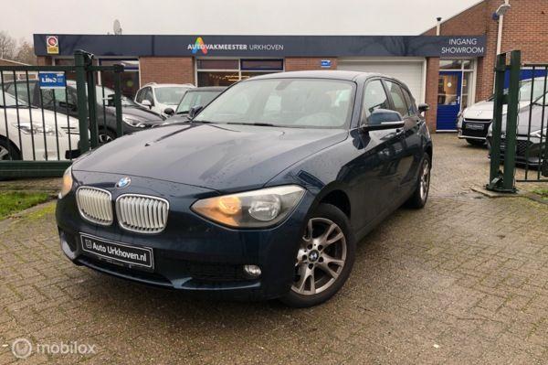 BMW 1-serie 118d,navi,licht+regen sensor,6 mnd garantie mogelijk