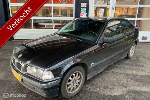 BMW 3-serie Compact 316i/Airco/NAP/1st eigenaar/nieuw Apk