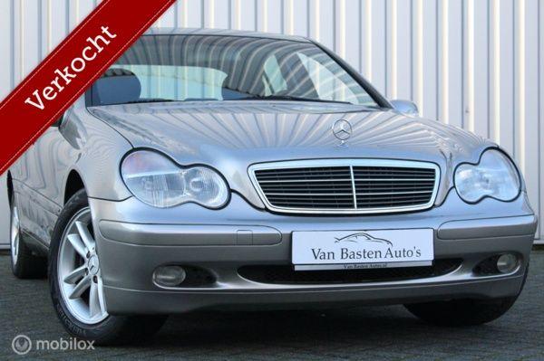 Mercedes-Benz C-klasse 180 K | W203 | Aut | 1e eig | Youngtimer |