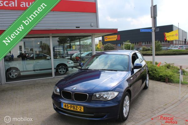 BMW 1-serie 118i EfficientDynamics Edition Navi