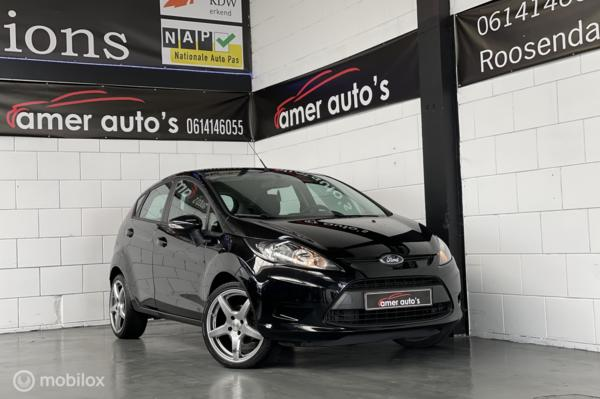 Ford Fiesta 1.25  Edition*dealer onder.*1e eign*100% in orde!