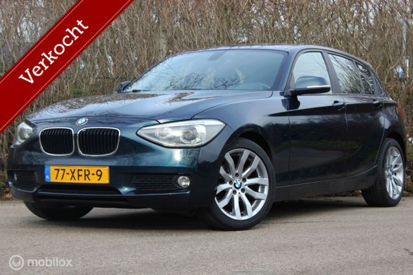 BMW 1-serie F20 116i Business AUTOMAAT navi/cruise/xenon/pdc