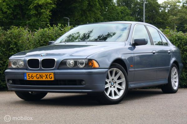 Youngtimer BMW 525i E39 5-serie Executive pdc/clima/topstaat