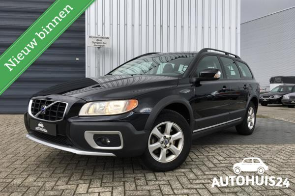 Volvo XC70 2.4 D5 185pk AWD Kinetic (bj2010) #LEDER #NAVI #TREKHAAK