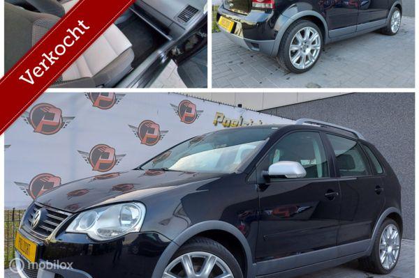 Volkswagen Polo 1.6-16V Cross AIRCO,CRUISE,17INCH!!