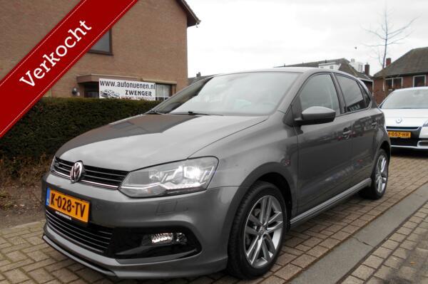 Volkswagen Polo 1.0 R-LINE|XENON LED|CLIMATE-AIRCO|STOELVERWARMING|PARKEERSENSOREN|CRUISE-CONTROL|STUURBEDIENING|