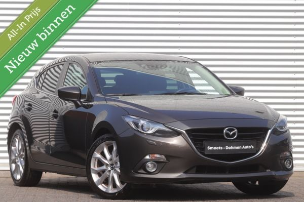 Mazda 3 2.0 GT-M | Navi | Xenon | Leer | Head Up | ALL IN Prijs!