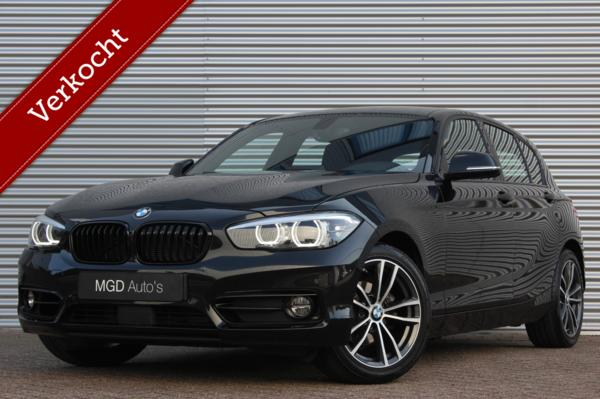 BMW 1-serie 118i Edition Sport Line Shadow Automaat /XENON/LED/ACC/LANE-ASSIST/STOELVERW./PDC!