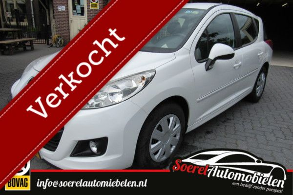 Peugeot 207 SW 1.6 HDI Access, airco, cruise, boekjes,