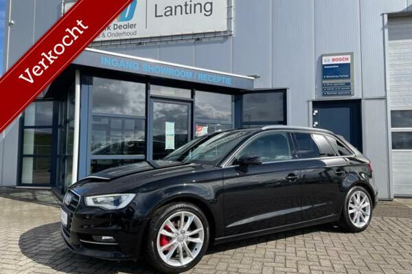 Verkocht: Audi A3 Sportback 1.4 TFSI Ambition 5 deurs leer