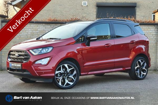 Ford EcoSport 1.0 EcoBoost ST-Line 125pk Automaat/18 Inch/Xenon/Camera/Navi/Pdc/stuur&stoelverwarming/Cruise