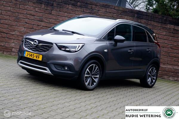 Opel Crossland X 1.2 T. Automaat Ultimate panorama/leer/cam/led/ecc/lmv17