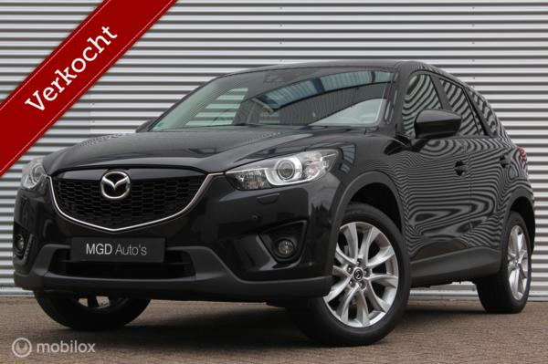 Mazda CX-5 2.0 4WD SkyActiv-G Sportsline /XENON/NAVI/CRUISE/LANE-ASSIST/19 INCH/STOELVERW./BOSE/PDC V+A/TELEFOON!