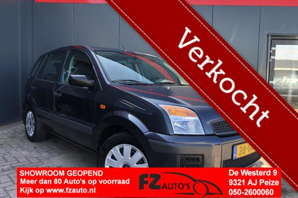 Ford Fusion 1.4-16V Cool & Sound   Airco   Hoge instap  