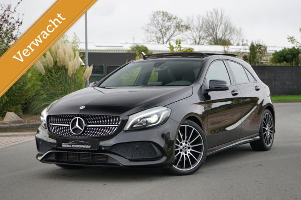 Mercedes A-klasse 220 AMG 4MATIC White Art Edition Distronic|Camera|Stoelverwarming|Dodehoek assist