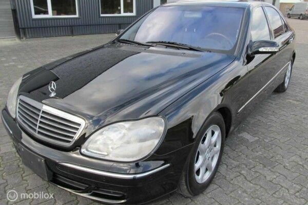 Mercedes S-klasse - 500 Lang, YOUNGTIMER 87213km aanbieding