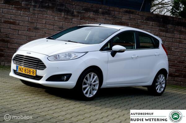 Ford Fiesta 1.0 EcoBoost 100PK Titanium nav/tel/ecc/pdc/lmv16