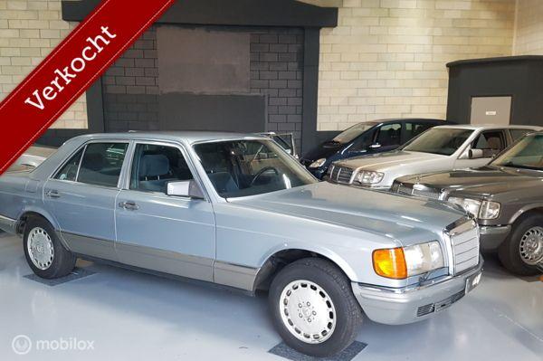 Mercedes W 126 380 SE  1980 WEGENBELASTING O VERKOCHT-SOLD