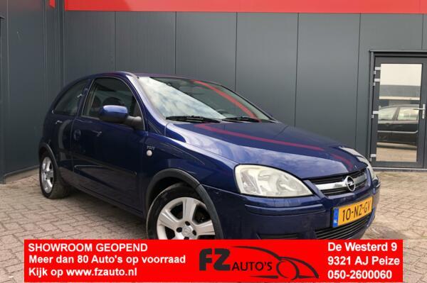 Opel Corsa 1.2-16V Maxx | L.M Velgen | Metallic |