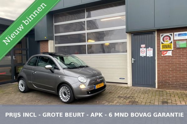 Fiat 500 0.9 TwinAir Lounge PANO/ECC *ALL-IN PRIJS*
