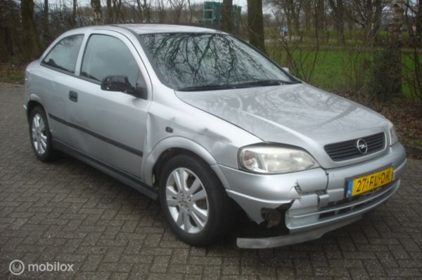 Opel Astra 1.6-16V Pearl Automaat airco schadeauto