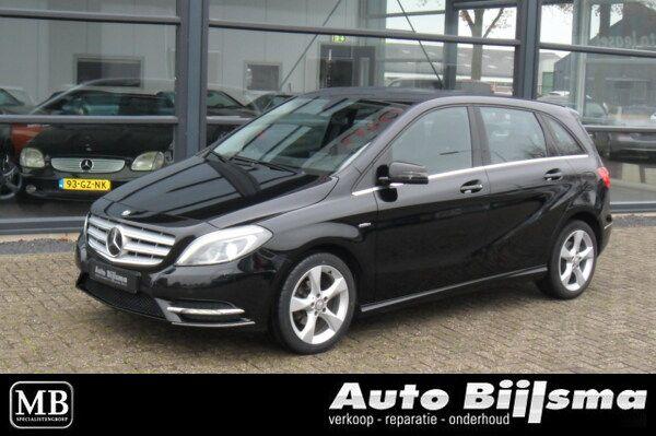 Mercedes B180 CDI Ambition, automaat, led verlichting, lederen interieur, dealer onderhouden,