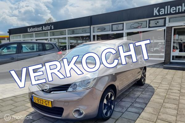 Nissan Note 1.4 Life+, Clima, Cruise, Leer/Stof, Lichtmetaal