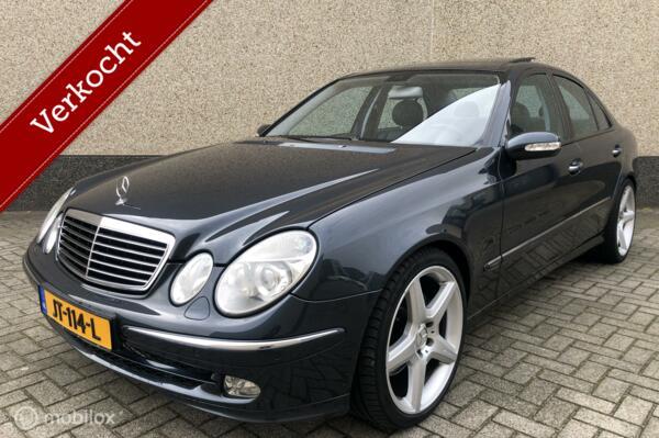 Mercedes E-klasse E500 Avantgarde Panorama Leder Nieuwstaat