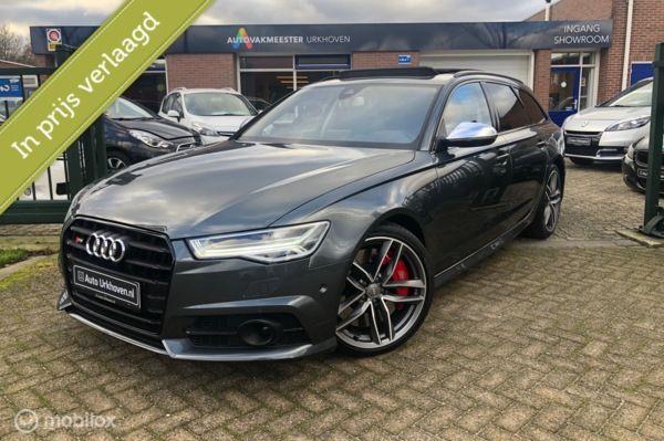 Audi S6 Avant 4.0 TFSI, bom-vol,tot 01-2023 verlengde fabrieksgarantie