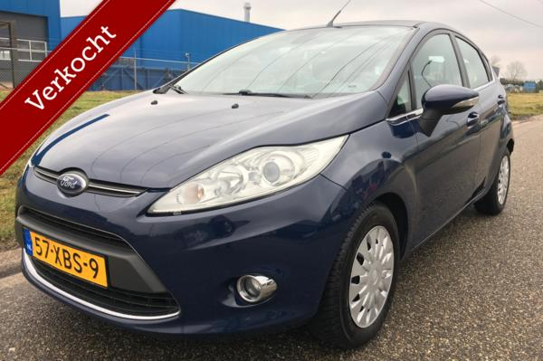 Ford Fiesta 1.6 TDCi ECOnetic Titanium 5-drs Clima/Cruise/PDC