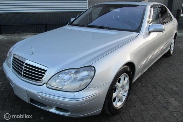 Mercedes-Benz S-klasse - 500 Lang youngtimer, 43500 km, top