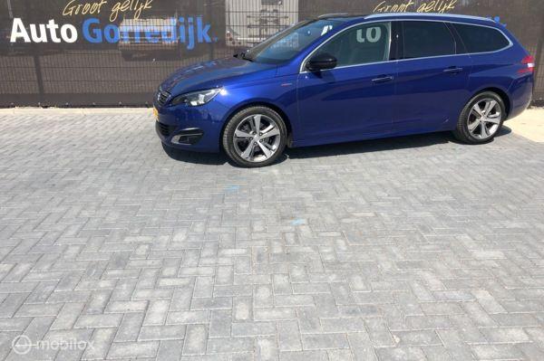 Peugeot 308 2.0 150 pk HDi  GT-line Pano,led,navi,leer BJ15