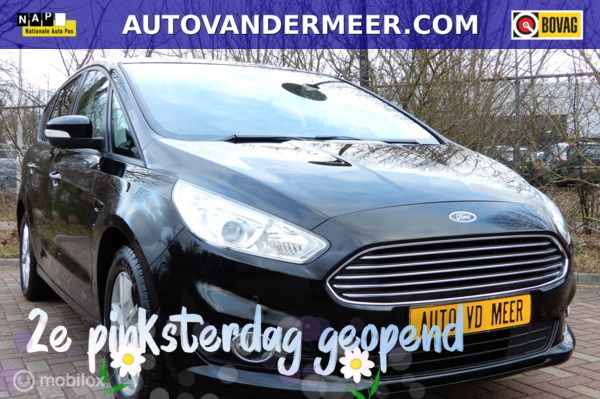 Ford S-Max 1.5 Titanium 7 Persoons 160PK NAVI/PARK ASSIST/STOELVW/CRUISE C./