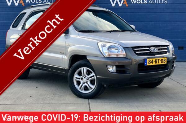 Kia Sportage 2.7 V6 Adventure 4WD / VERKOCHT!