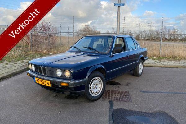 BMW 3-serie 1984 320i e30 6 cilinder. 2jr APK! Uniek oldtimer
