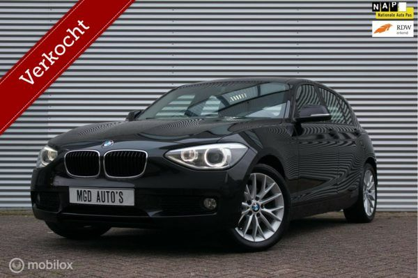 BMW 1-serie 125i Business /218PK/XENON/LED/AIRCO/CRUISE/BLUETOOTH/PDC!