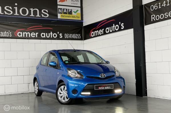 Toyota Aygo 1.0 VVT-i Dynamic Blue*dealer onderhouden*1e eign.*100%