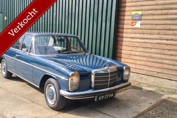Mercedes 200-280 230 - 6  W114 APK 2022