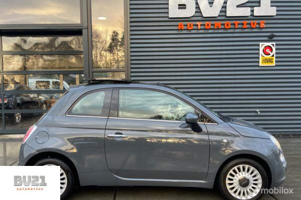 Fiat 500 0.9 Twin Air turbo 85pk Lounge, Elec.Panodak, Stoelverw.
